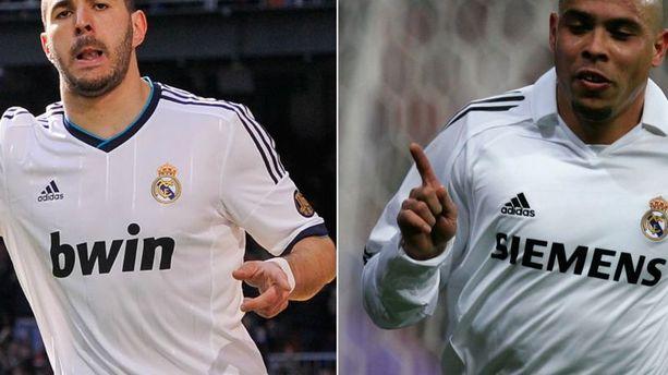 Real Madrid : Karim Benzema presque aussi fort que Ronaldo (le vrai)