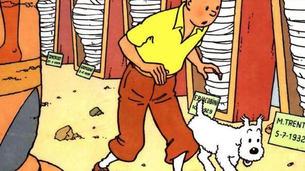 Tintin et les Cigares du pharaon bientôt en feuilleton radio