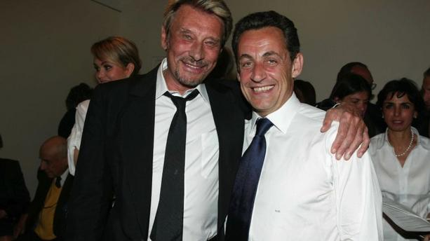 "Johnny Hallyday s'avoue ""déçu par Nicolas Sarkozy"""