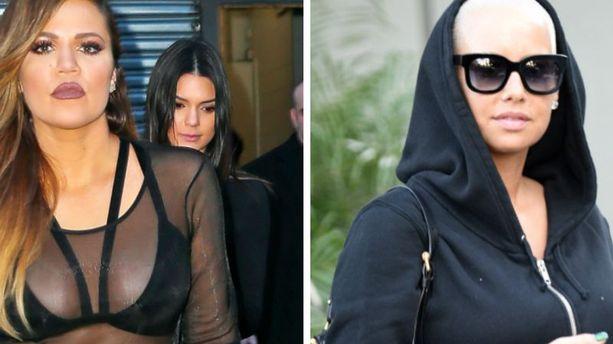 Amber Rose et Khloe Kardashian - Règlements de compte à Ok Twitter