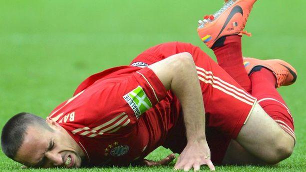"Bayern Munich : Ribéry out ""plusieurs semaines"""