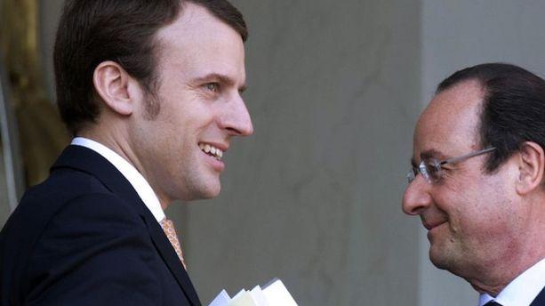 Emmanuel Macron, tout un ''symbole''