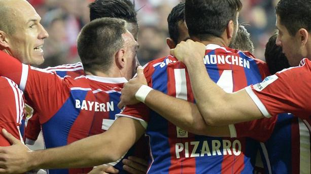 Bundesliga: Ribéry et le Bayern enfoncent Dortmund