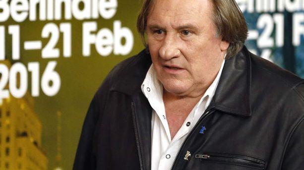 Gérard Depardieu future star d'une série russe