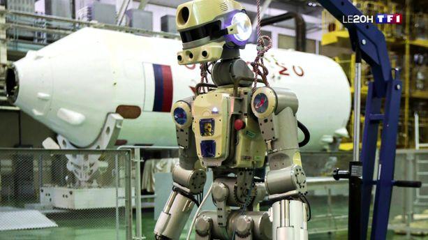 Fedor, un robot cosmonaute dans l'espace