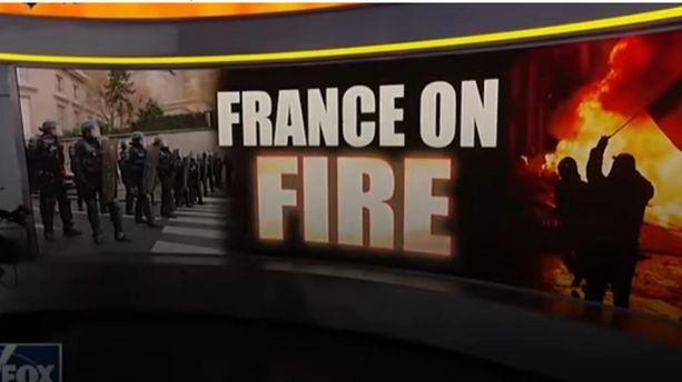 """La France en feu"" : quand Fox News parle des Gilets jaunes"