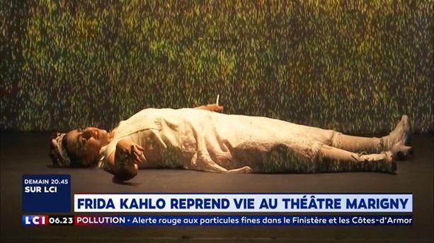 Frida Kahlo reprend vie au Théâtre Marigny