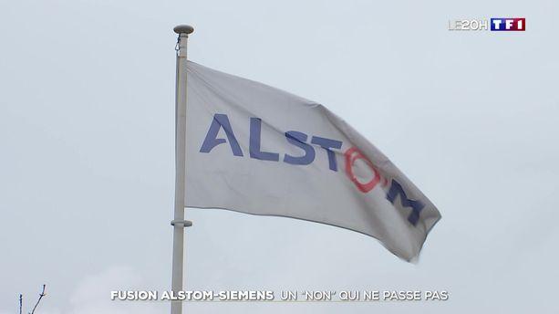 "Fusion Alstom-Siemens : un ""non"" qui ne passe pas"