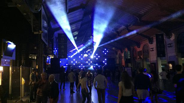 La gare Saint-Lazare privatisée en club d'un soir