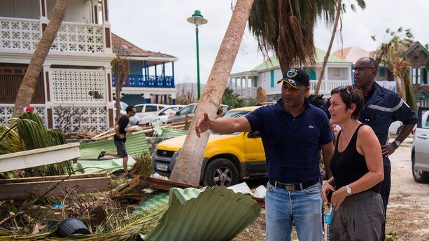 Ouragan Irma : Annick Girardin, cette ministre au coeur du dispositif de secours à St-Martin