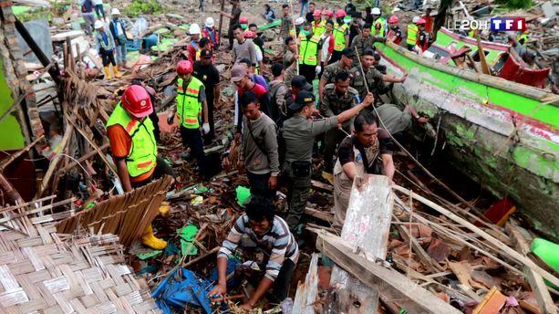 Indonésie : le bilan du tsunami s'alourdit à 370 morts