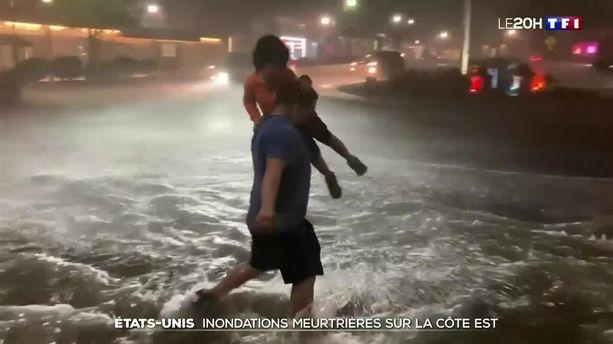 Inondations : du jamais-vu à New York