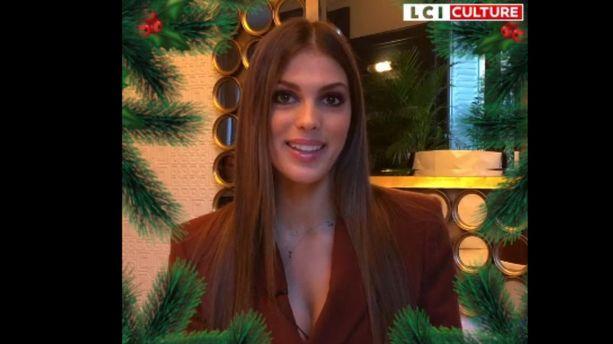 "VIDÉO - L'interview ""Christmas spirit"" d'Iris Mittenaere : ""J'aimerais passer Noël avec Kate Middleton"""