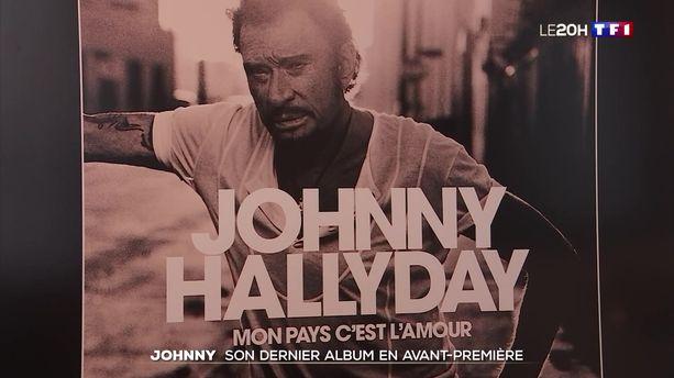 Johnny Hallyday : son dernier album en avant-première