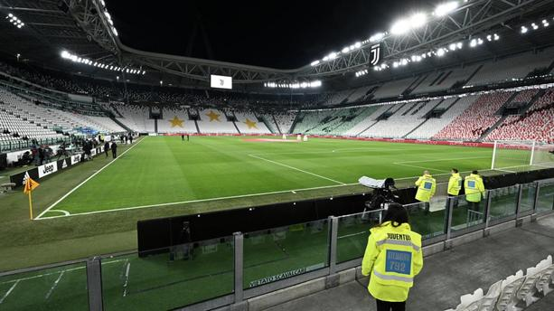 L'Allianz Stadium à huis clos lors du choc de Serie A Juventus Turin-Inter Milan, le 8 mars 2020.