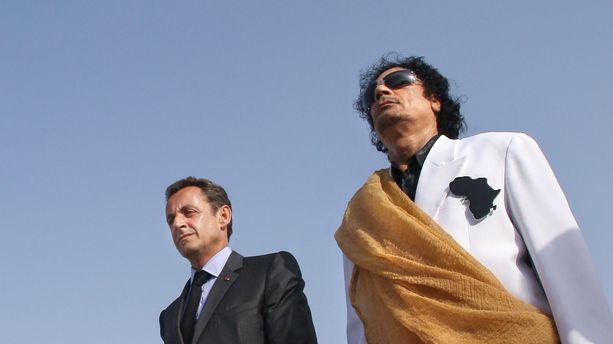 La riposte de Nicolas Sarkozy — Financement libyen