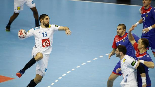 Mondial de handball : avec Nikola Karabatic, la France bat la Russie sur le fil