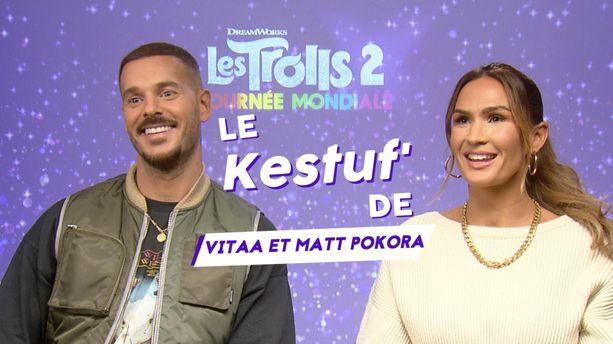 "VIDÉO - Le Kestuf' de Vitaa et Matt Pokora : ""Trolls 2 est un hymne à la tolérance"""