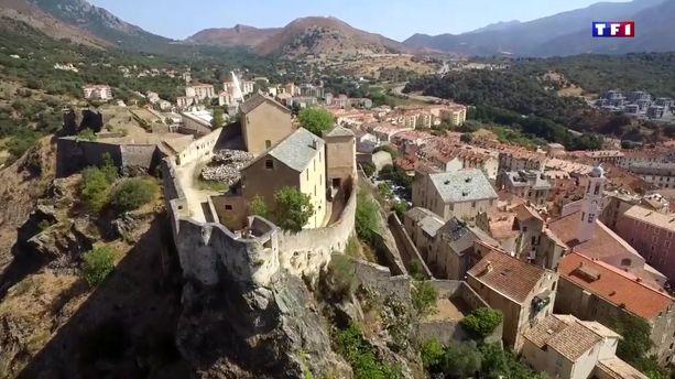 La Citadelle De Corte   Symbole Historique De La Corse