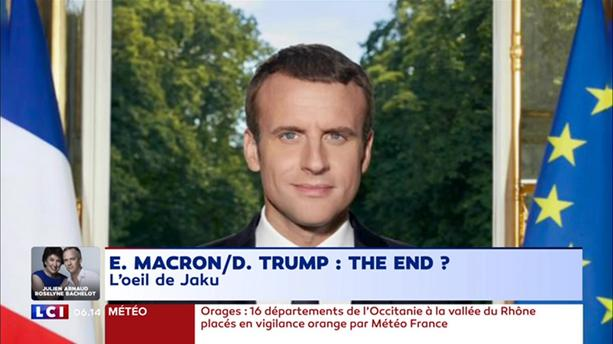 "La fin de la ""lune de miel"" entre Emmanuel Macron et Donald Trump ?"