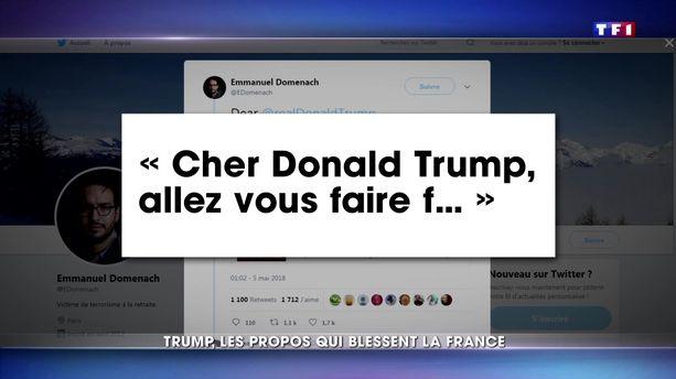 La France blessée par les propos de Donald Trump sur les attentats du 13-Novembre