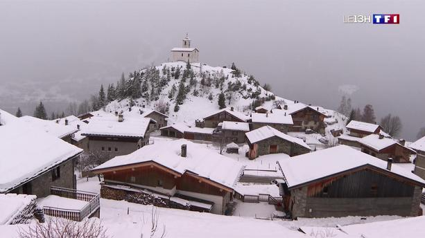 La neige tombe enfin dans les Alpes