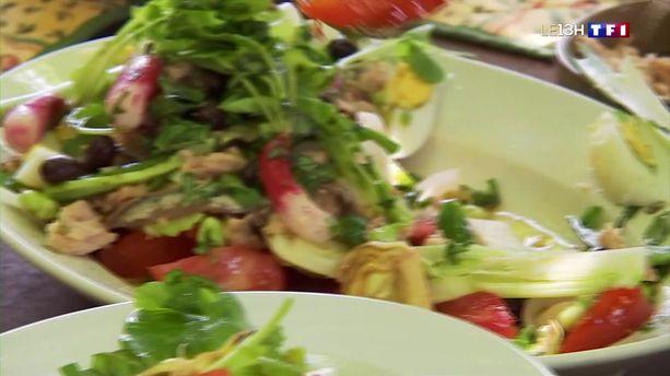 La salade niçoise, le plat qui sent bon les vacances