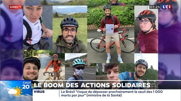 Le boom des actions solidaires