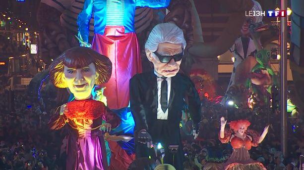 Le Carnaval de Nice bat son plein