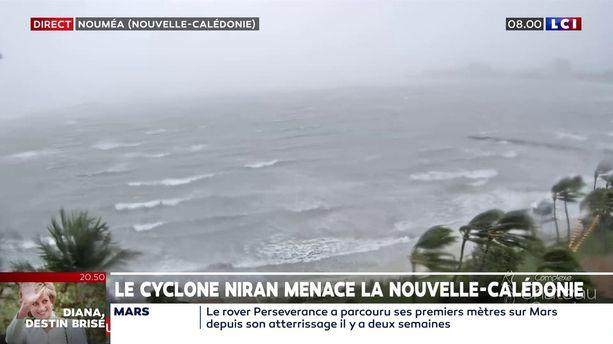 Cyclone Niran : la Nouvelle-Calédonie en alerte maximale