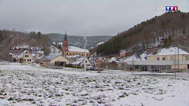 Le Haut-Rhin enfin sous la neige !