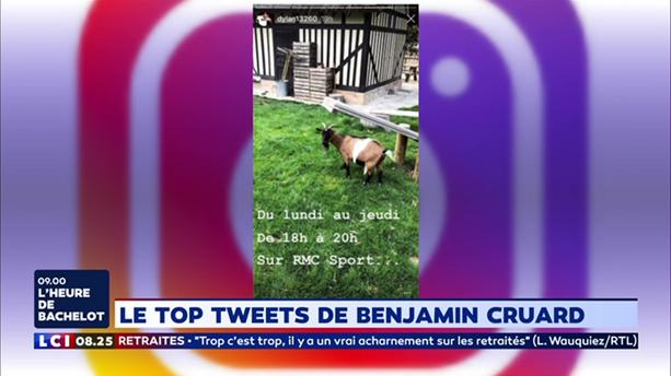 Le Top Tweets de Benjamin Cruard