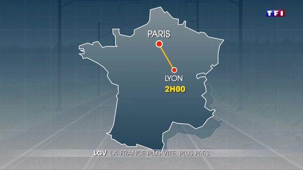 Lignes à grande vitesse : la France plus vite, plus près
