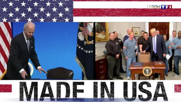 """Made in America"" : Joe Biden suit-il les pas de Donald Trump ?"