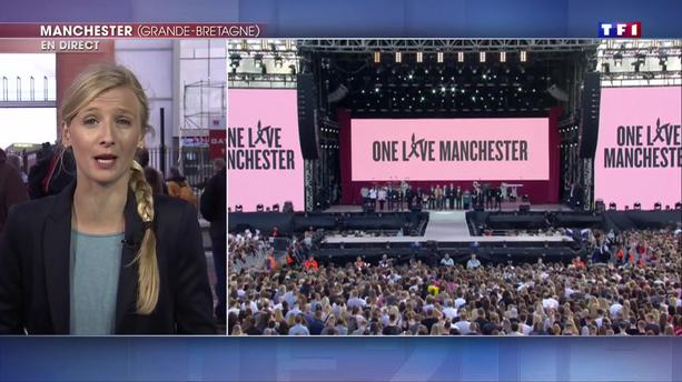 Manchester : Katy Perry, Coldplay ou Pharrell Williams réunis pour le symbole