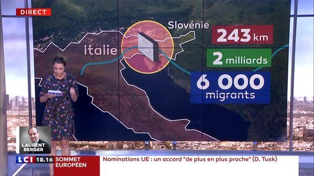 Matteo Salvini : un mur anti-migrants en Europe ?