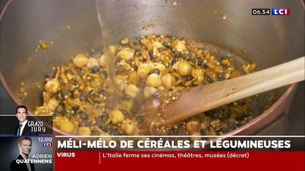Méli-mélo de céréales et légumineuses