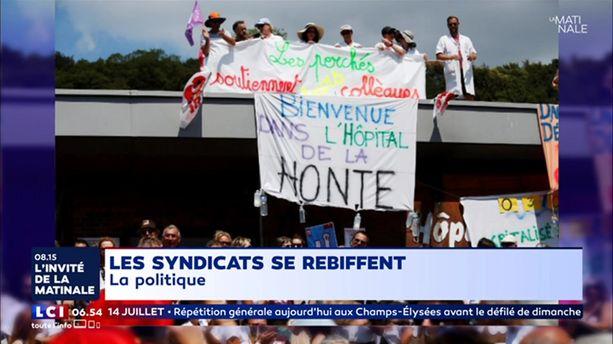 Méthode Macron : les syndicats se rebiffent