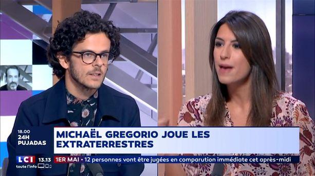 Michaël Gregorio joue les extraterrestres