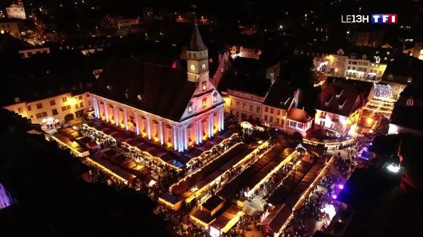 Montbéliard a déjà installé ses illuminations de Noël