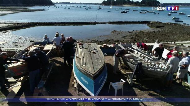 Morbihan : une association restaure des plates