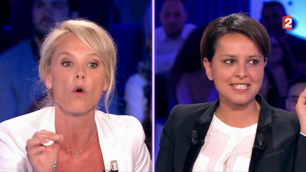 """C'est une fake news !"" : violente passe d'armes entre Najat Vallaud-Belkacem et Vanessa Burggraf dans ""ONPC"""