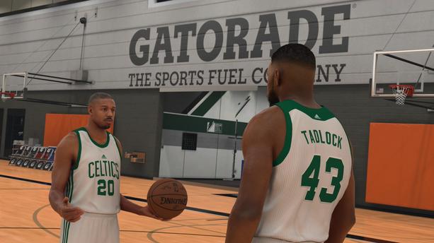 NBA 2K17 : Michael B.Jordan (Creed) lâche les gants pour les baskets