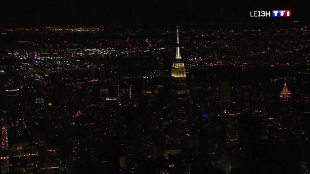 New York : Manhattan plongé dans le noir