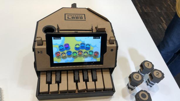 Nintendo Labo : on a testé le jeu vidéo en carton