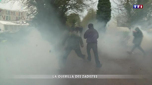 Notre-Dame-des-Landes : la guérilla des zadistes