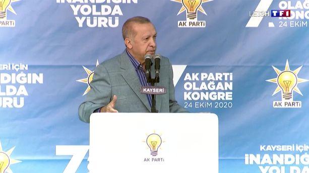 Passes d'armes entre Emmanuel Macron et Recep Tayyip Erdogan