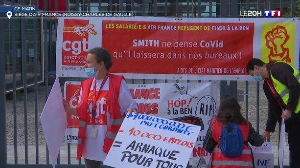 Plan social chez Air France : suppression de 7580 postes d'ici 2022