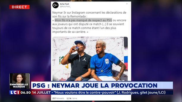 PSG : Neymar joue la provocation