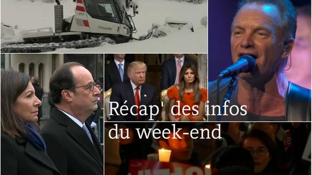 VIDEO - Les cinq infos à retenir du week-end